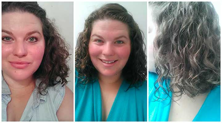 Aussie 3 Minute Miracle before and after photos
