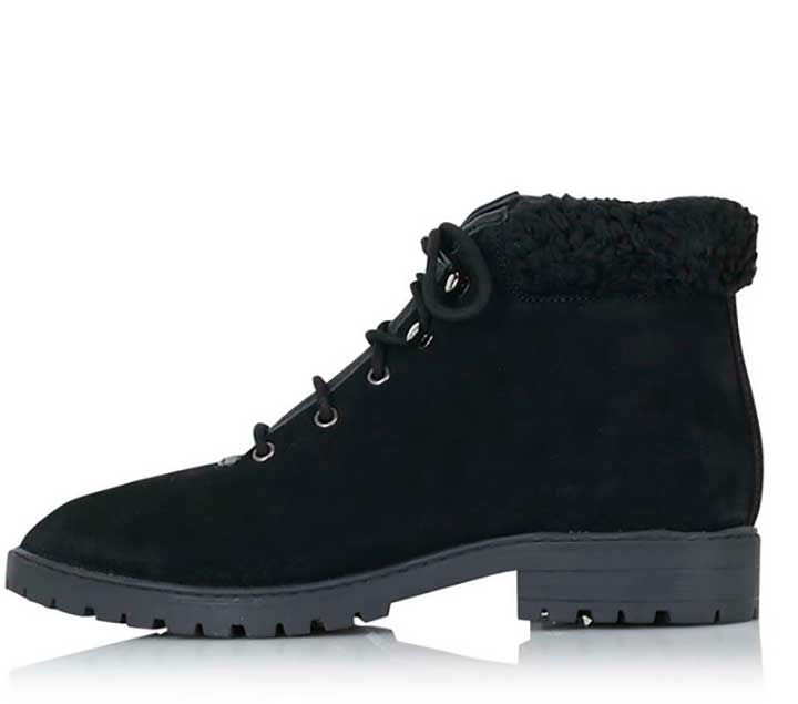 Topshop Birdy Lace-Up Boots