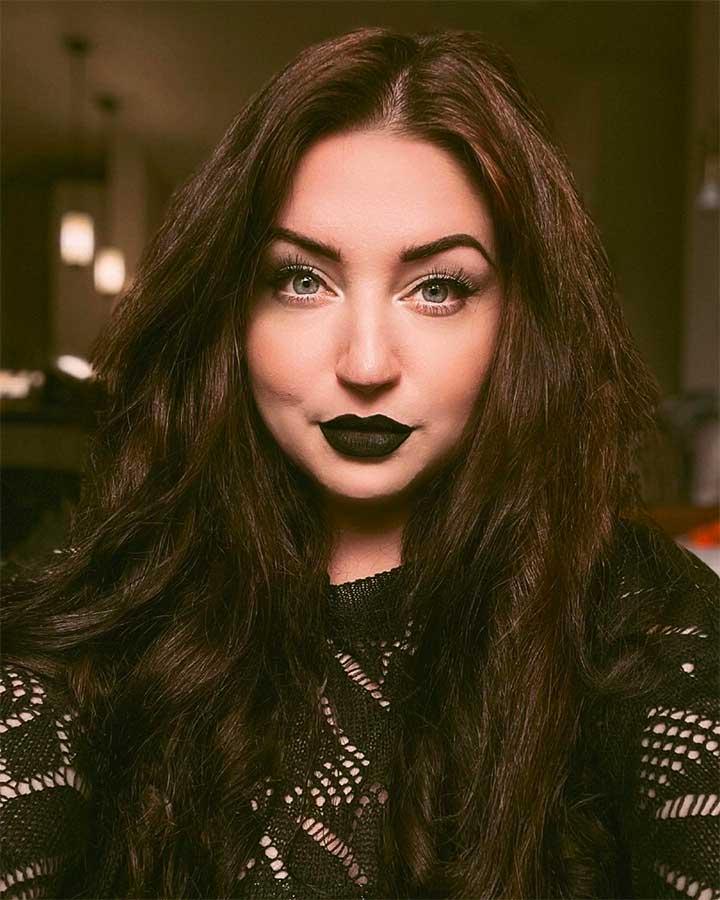 Black lipstick drugstore review