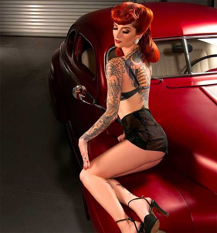 Cherry Dollface Pinup Hair