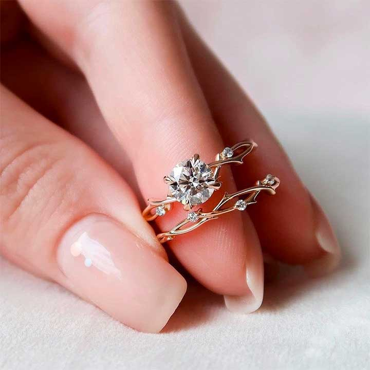 instead of engagement ring