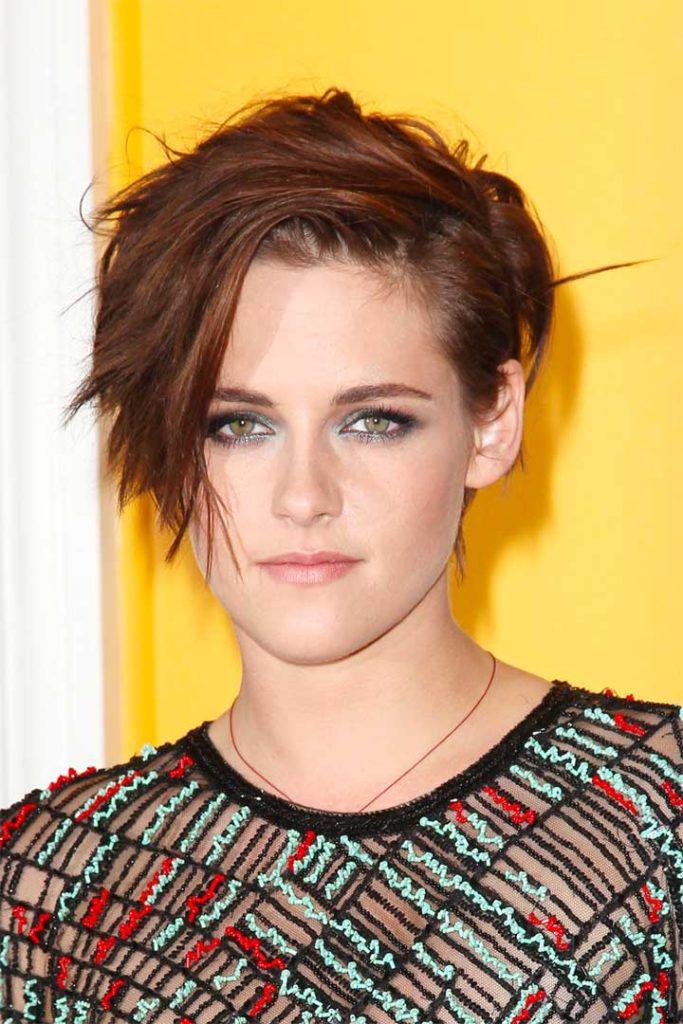 Kristen Stewart Short Hair Cut
