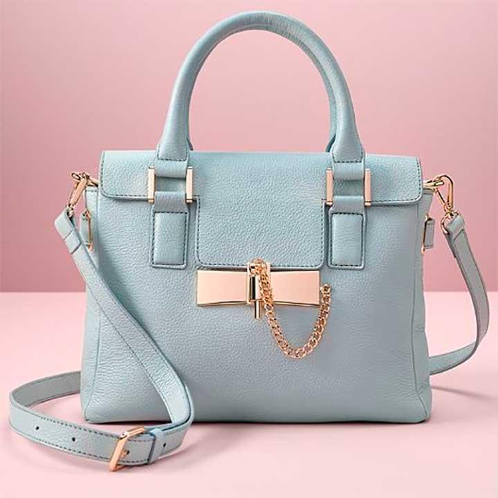 LC Lauren Conrad Runway Collection Leather Crossbody Bag