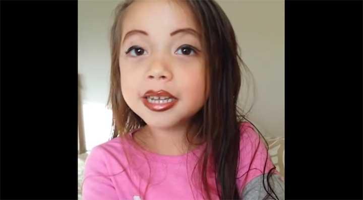 Full lip makeup tutorial