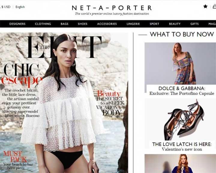 Net-a-Porter: The Best Places to Shop Online