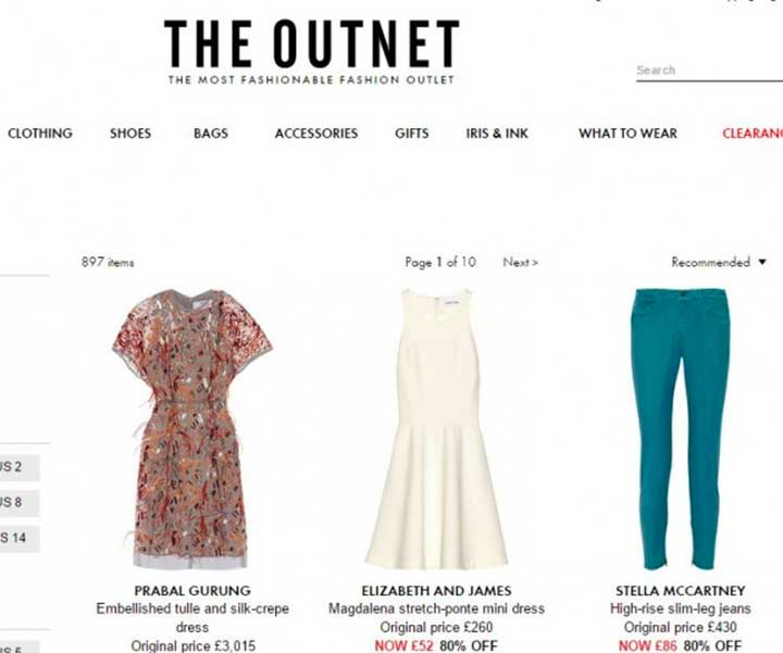 The Outnet: What Your Favorite Online Store Says About You