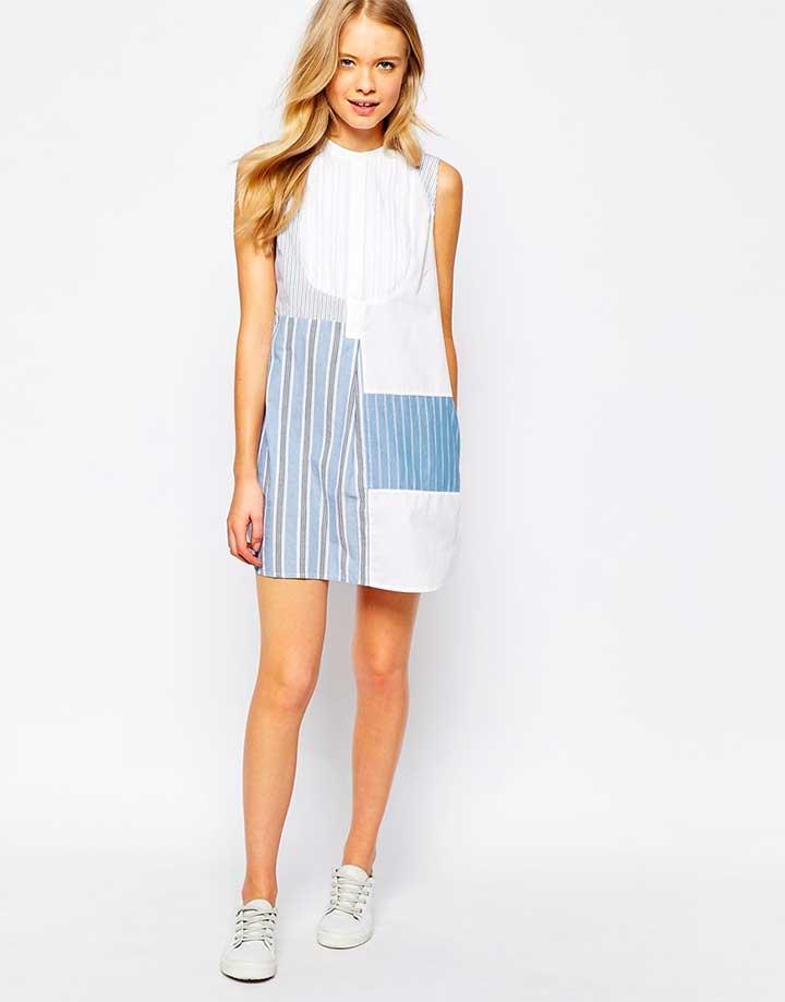Jack Wills patchwork dress