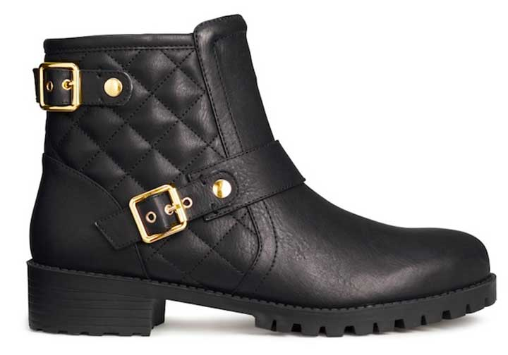 Quilted Boots from H&M,