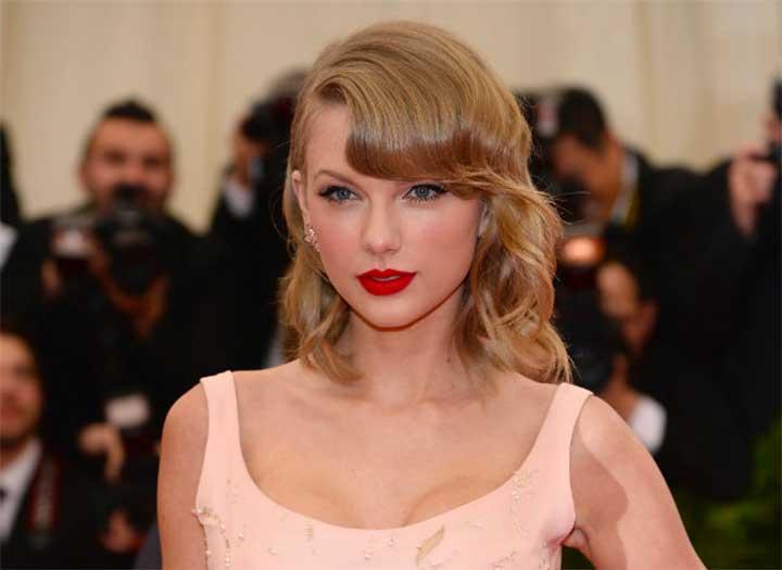 Taylor Swift Red Lipstick Met Gala