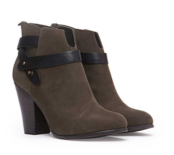 Wrapped Faux Suede Booties from Forever 21