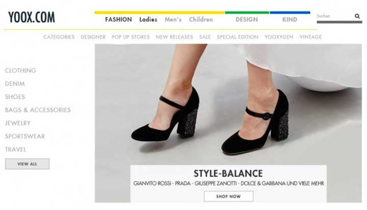 Online clothing store with the best brands
