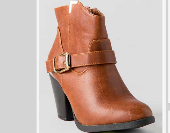 Zina Ankle Bootie from Francesca's