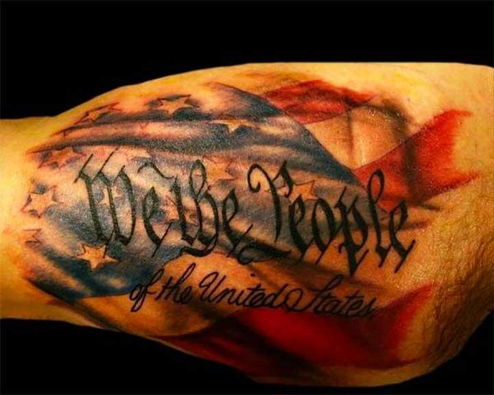 2nd Amendment Tattoo