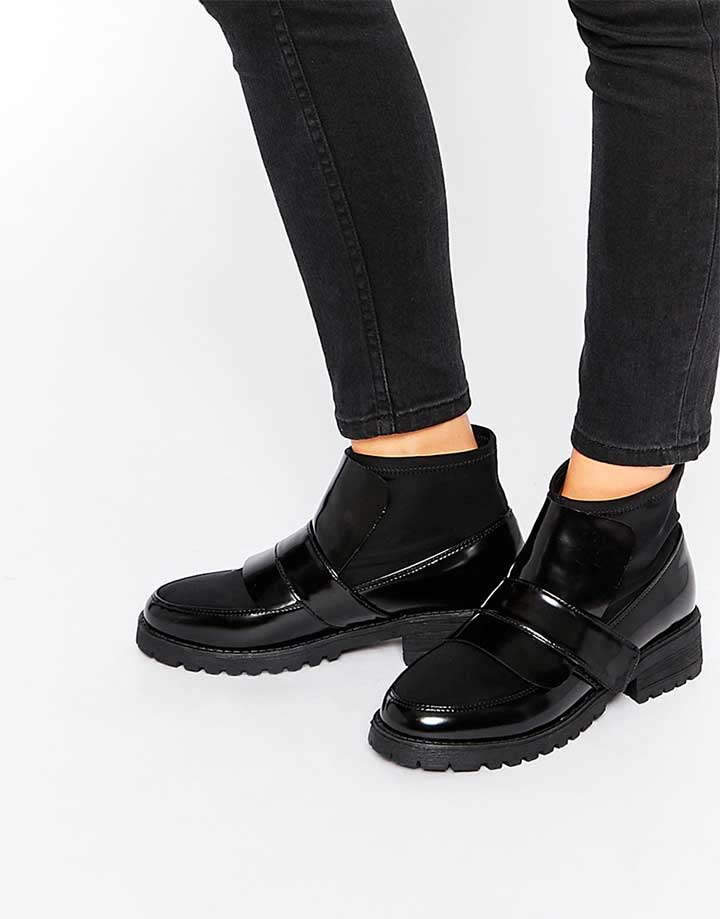 Abyss Chunky Ankle Boots