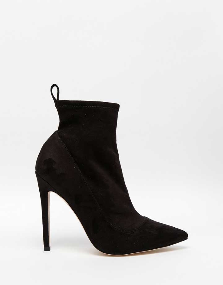 Envision Pointed Toe Sock Boots