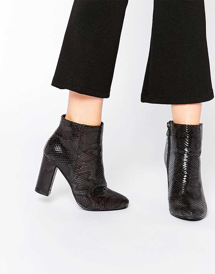 ASOS Snakeskin Boots