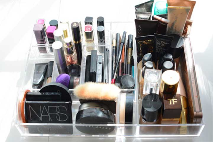 Acrylic Drawer Clear Makeup Organizer