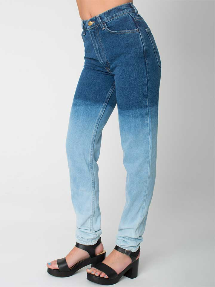 American Apparel Ombre Jeans