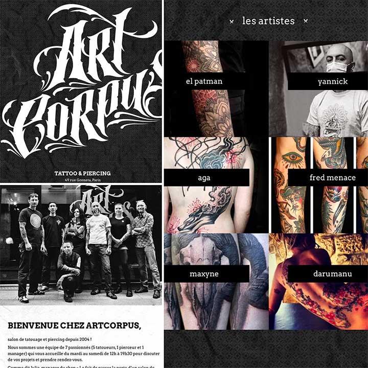best tattoo artist websites