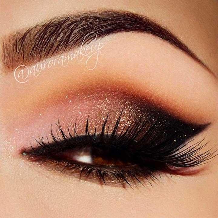 blended eyeshadow vs unblended