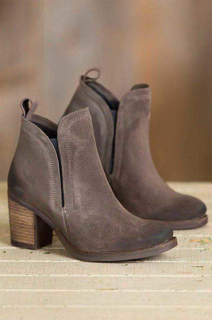 Bos & Co Belfield Waterproof Suede Boots