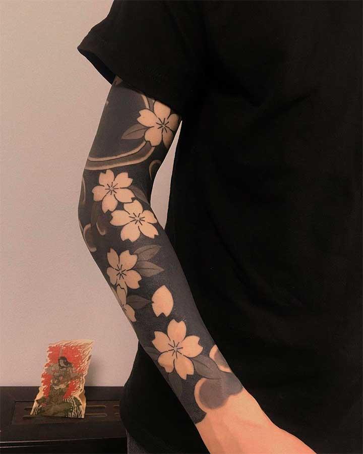 Custom Sleeve Tattoo