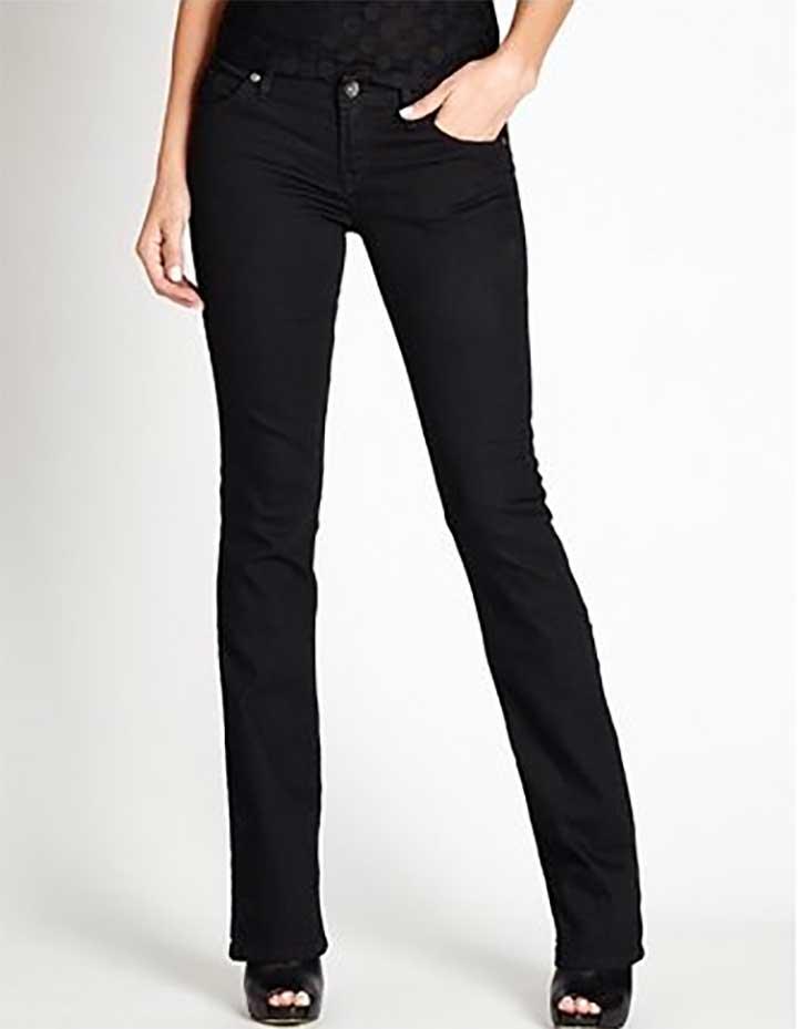 Guess Black Bootcut Jeans