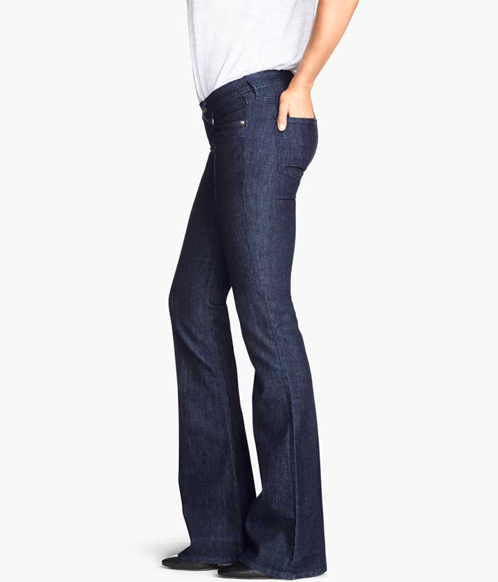 H&M Flare Low Jeans