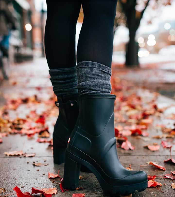Hunter Rain Booties