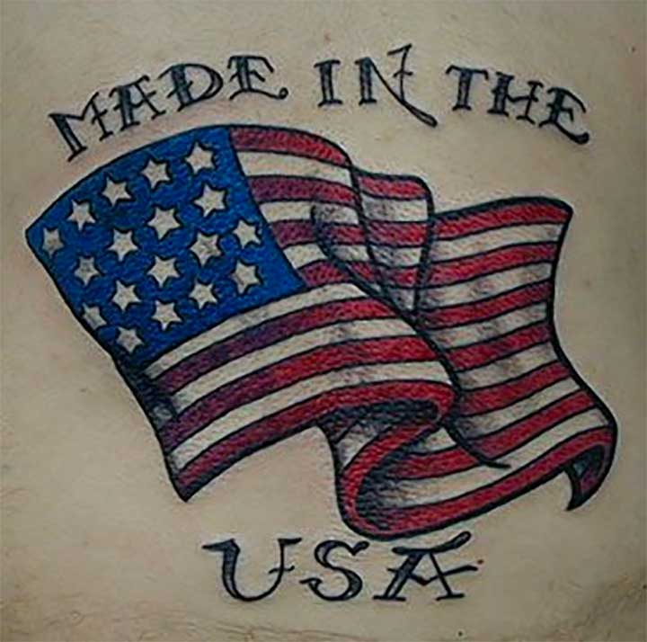 Made In The USA Tattoo
