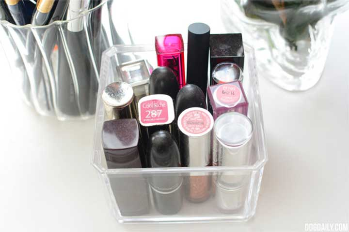 Makeup Organizer Ideas