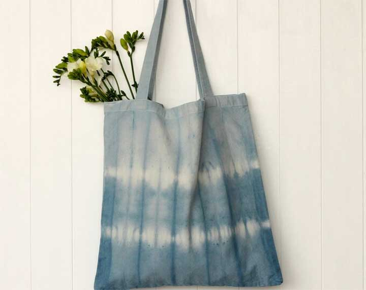 Naturally Dyed Organic Tote
