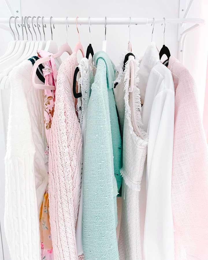 Pastel Colors in Wardrobe