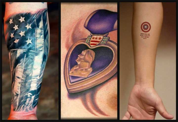 12 Inspirational Patriotic Tattoos To Celebrate The Fourth Of July