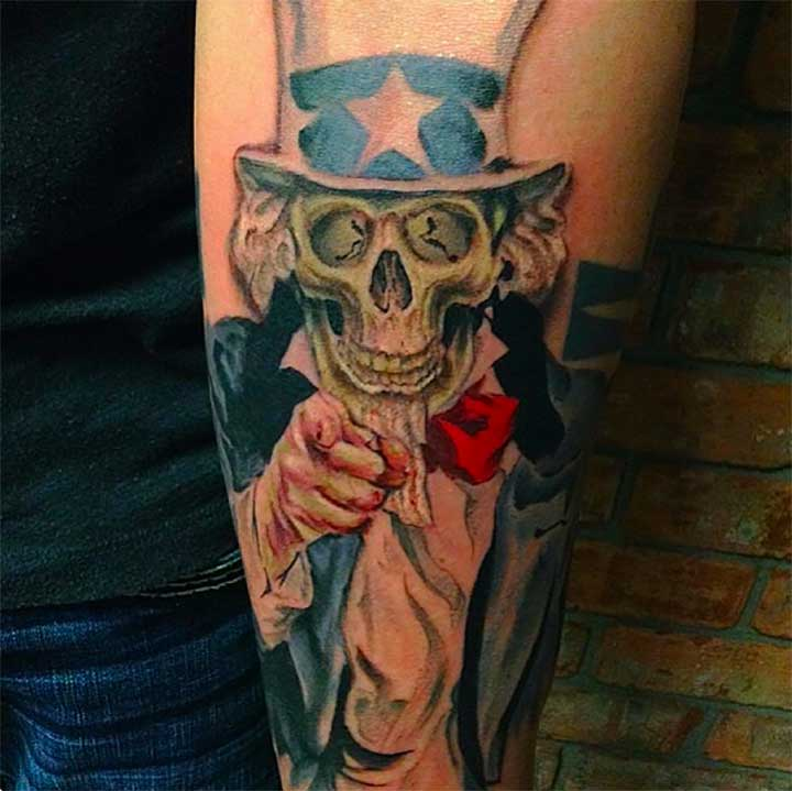 Political Tattoo Ideas