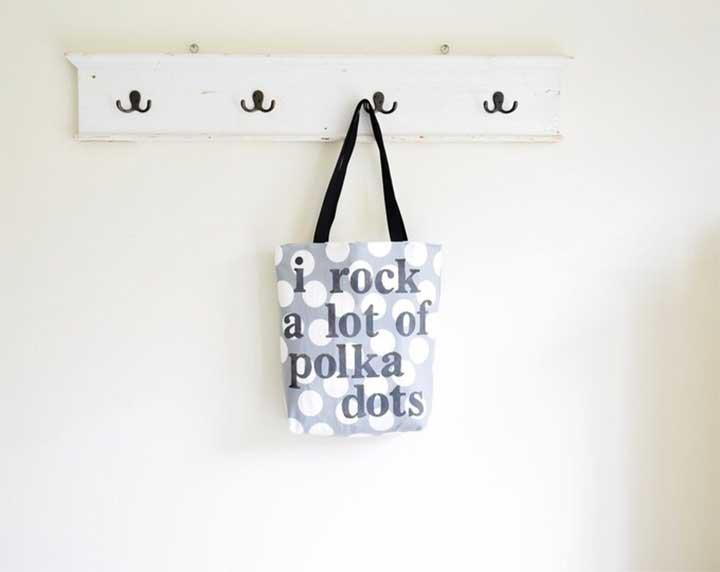 I Rock A Lot of Polka Dots Tote Bag