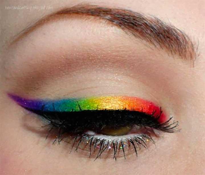 rainbow liquid eyeliner