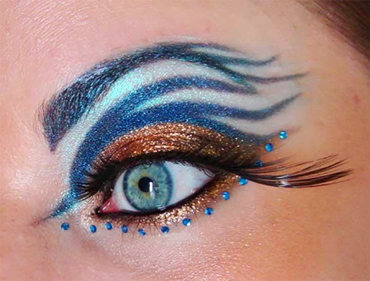 harry potter Ravenclaw Eyes makeup tutorials