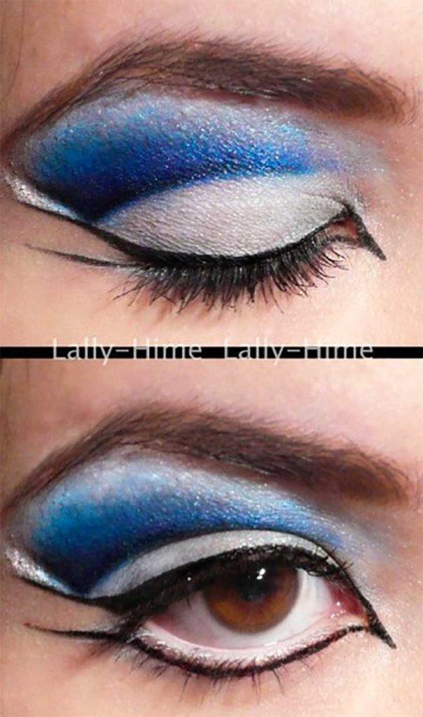 Ravenclaw Eyes Makeup Tutorial