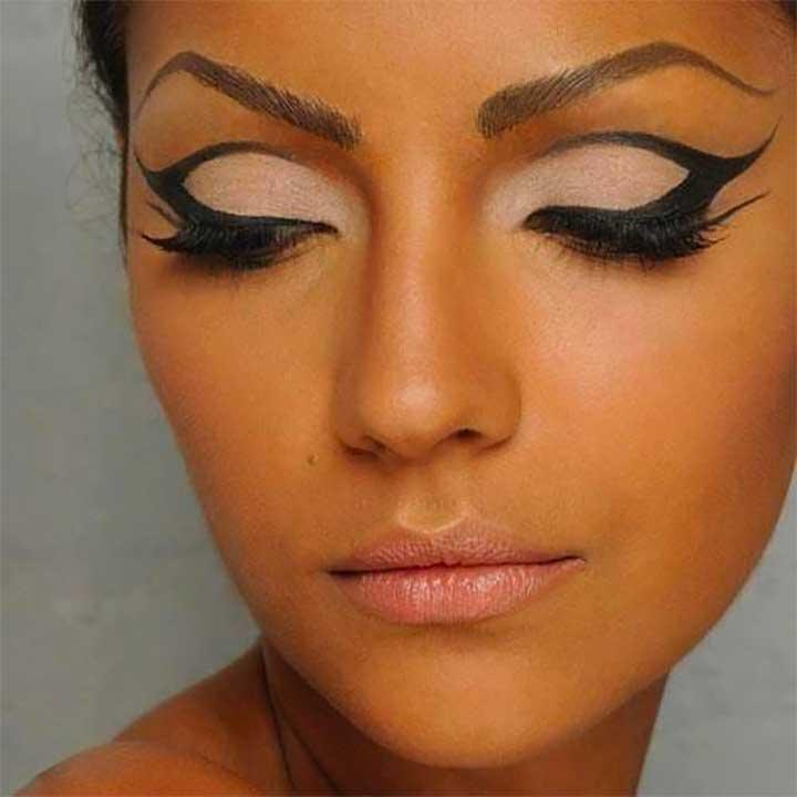 cat eye makeup hacks