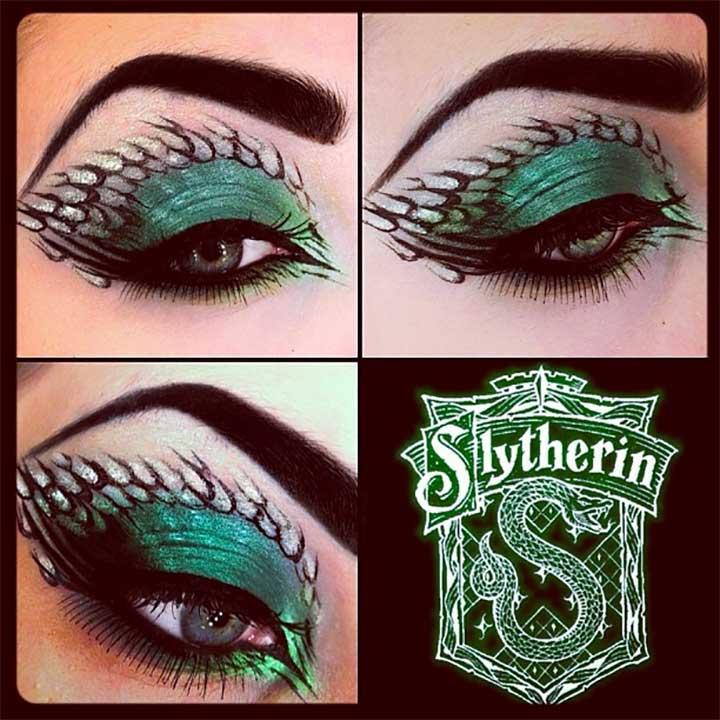 Salazar Slytherin Eye Makeup
