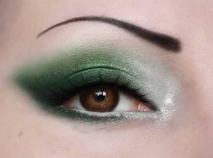 Subtle Slytherin Smokey Eye
