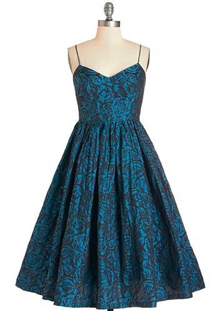 Tracy Reese True Blue Elegance Dress