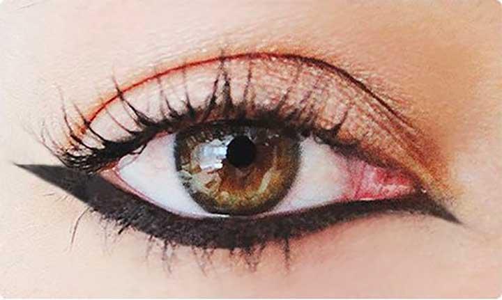Upside Down Cat Eye