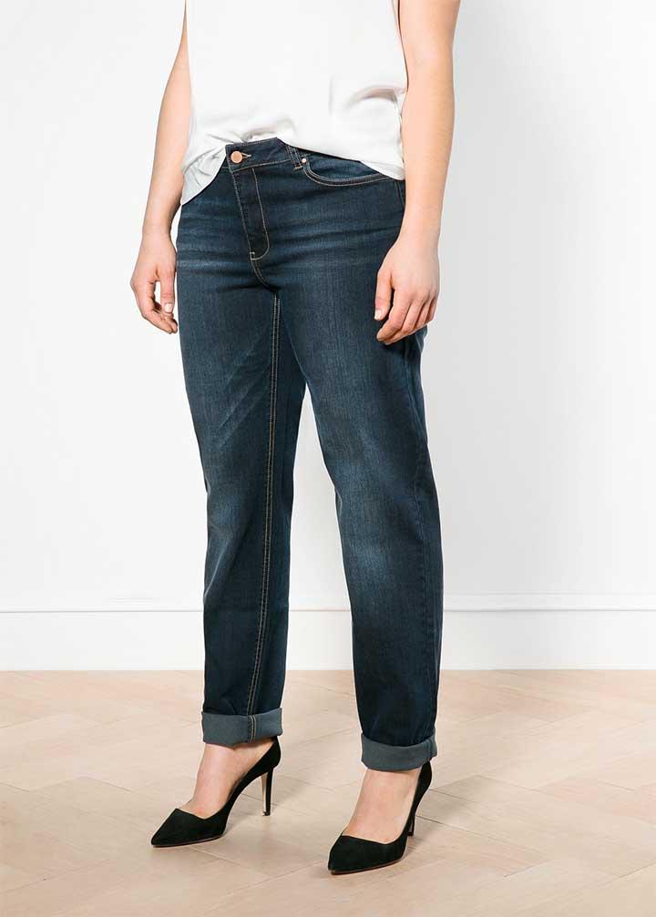 Violet Straight Jeans