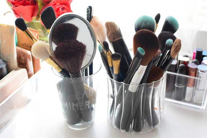 What is the best way to store makeup?