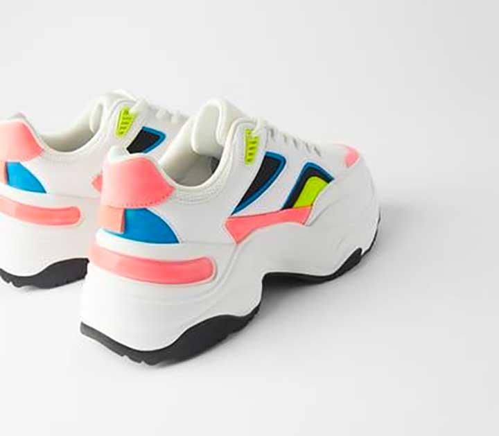 Zara Multicolored Sneakers