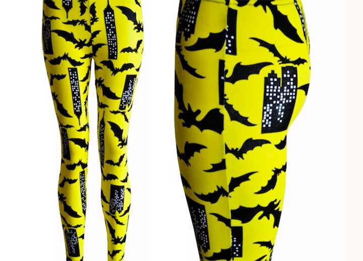 bat attack leggings