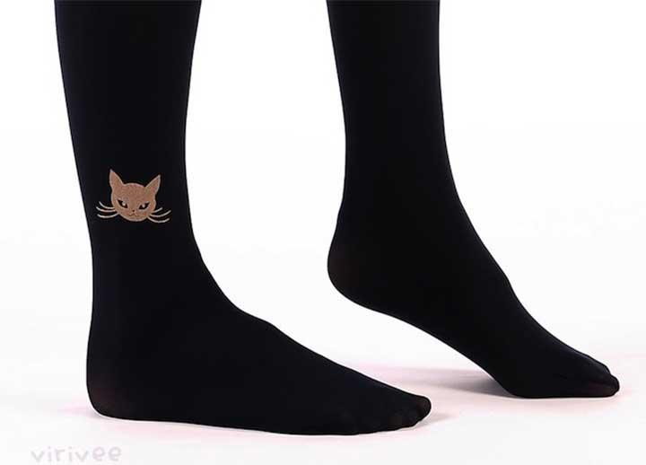 black cat tights - Halloween Costumes