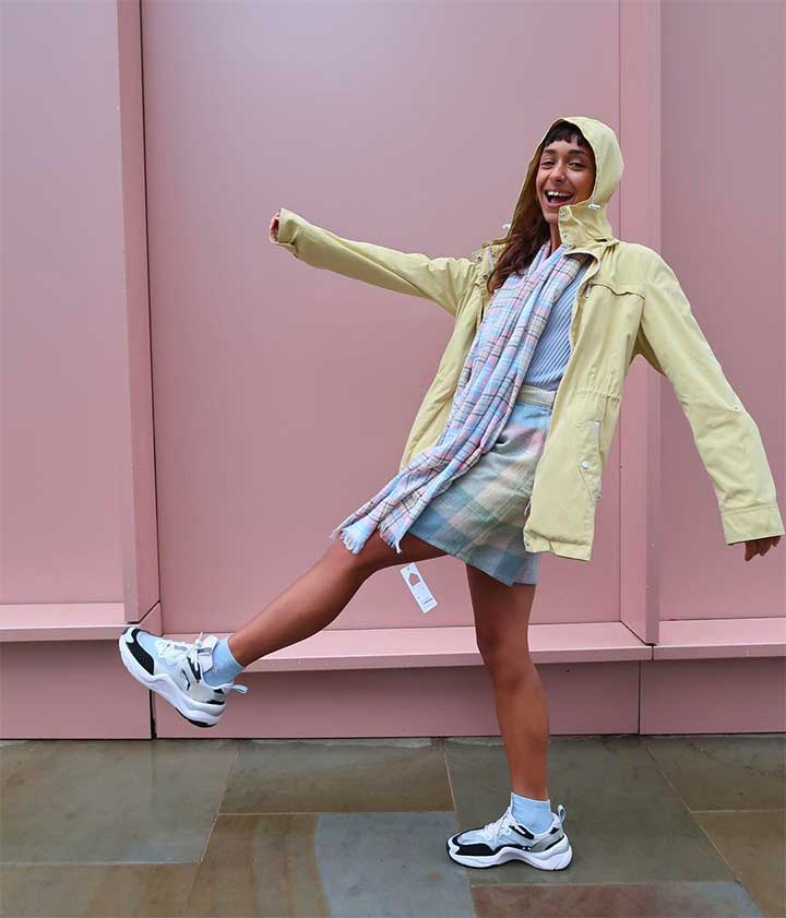 how to style the pastel trend